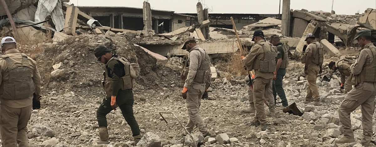 Ordnance Management in Mosul